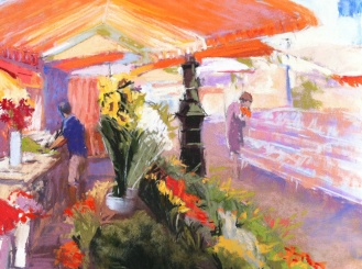 In the flower market, 7x10