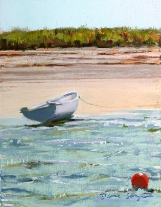 On the Beach off P-town 6 x 9