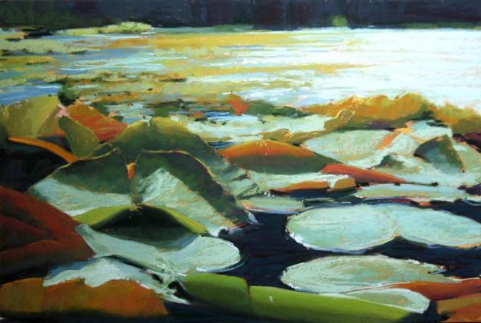 Abundance, 12 x 18, soft pastel on UArt sanded paper