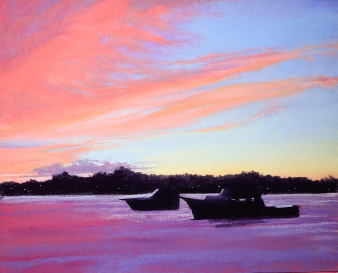 Red Sky at Night 15x12