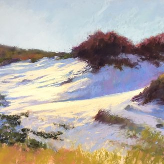 Purple Shadows, Sandy Neck, 12x18